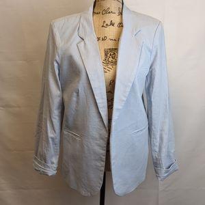 NWOT Dalia Light Blue Blazer, size L